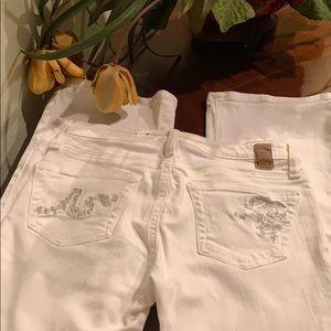AG Adriano Goldschmied Angel jeans 25R Like New